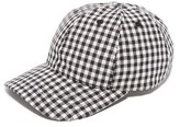 Our Legacy Linen Gingham Cap