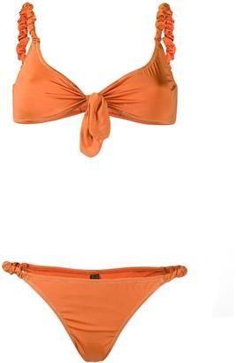 Reina Olga Luca Scrunchie Strap bikini