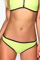 Boohoo Cuba Neoprene Mix And Match Contrast Brief