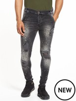 SikSilk Distressed Skinny Jean