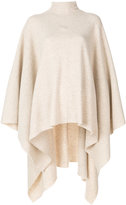 Pringle roll neck poncho