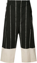 Yohji Yamamoto Side Tuck Pants - men - Cotton - 2