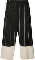 Yohji Yamamoto Side Tuck Pants - men - Cotton - 3