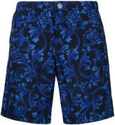 Versace brocade print swim shorts