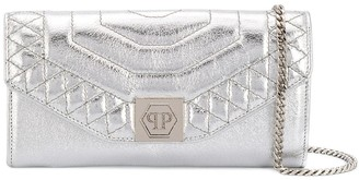 Philipp Plein Hexagon clutch bag