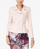 Thalia Sodi Jacquard Moto Jacket, Only at Macy's