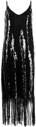 In The Mood For Love Doris fringed sequin dress