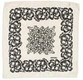 Cacharel Silk Floral Scarf