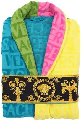 Versace Barocco & Robe Cotton Bathrobe
