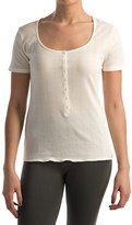 Calida Excelsior Shirt - Stretch Cotton, Short Sleeve (For Women)