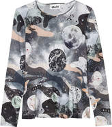 Molo Rosalind space print top 4-14 years