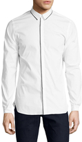 The Kooples Cotton Grosgrain Sportshirt