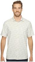Tommy Bahama Geo Chaser IslandZone Camp Shirt Men's Clothing