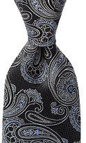 Daniel Cremieux Big & Tall Paisley Bloom Traditional Silk Tie