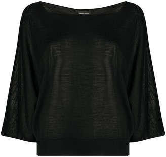 Roberto Collina relaxed-fit blouse