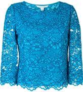 Diane von Furstenberg lace top