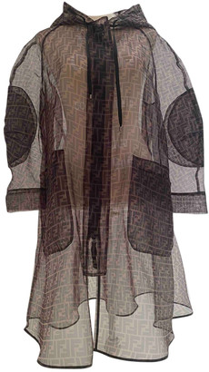Fendi Brown Synthetic Coats