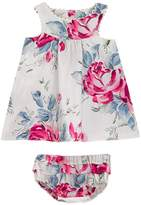 Cath Kidston Birthday Rose Baby Eleanor Dress with Matching Bloomers
