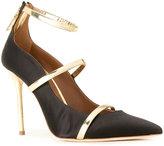 Malone Souliers 'Robyn' pumps - women - Nappa Leather/PVC - 36.5