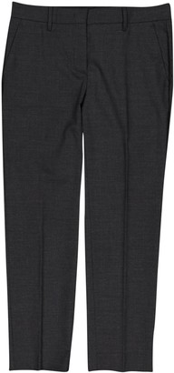 Prada Anthracite Wool Trousers