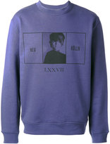 McQ by Alexander McQueen printed sweatshirt - men - Cotton - XS