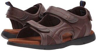Nunn Bush Rio Grande Three Strap River Sandal (Tan) Men's Sandals