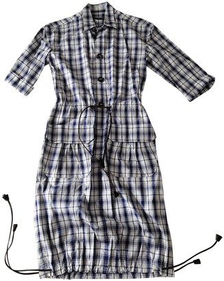 DSQUARED2 Blue Cotton Dresses