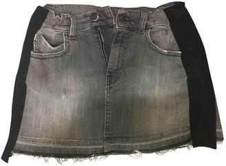 Pinko Grey Denim - Jeans Skirt for Women