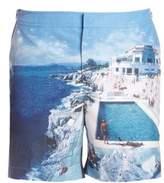 Orlebar Brown Photo Print Swim Shorts