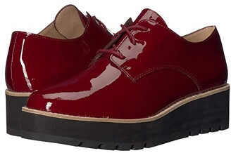 Eileen Fisher Eddy (Burgundy Patent Leather) Women's Shoes