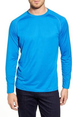 Bugatchi Long Sleeve Raglan T-Shirt