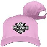 BBANG 2 BBANG Motor COMPANY Harley Davidson Logo Hats Caps