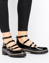 Asos Maverick Chunky Flat Shoes