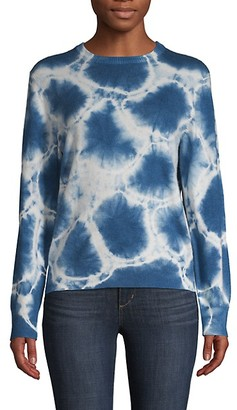 Naadam Cashmere Tie-Dye Pullover
