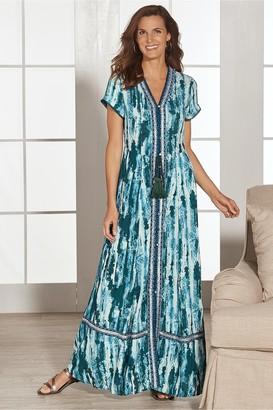 Soft Surroundings Madiera Maxi Dress