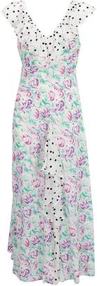 Rixo Antoinette Floral Print Dress