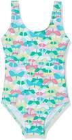 DIMO-TEX Sun Baby Girls' Badeanzug Mädchen UV-Schutz 50+ Swimsuit,12-18 Months