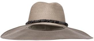 Brunello Cucinelli Embellished hemp and cotton hat