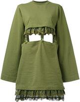 FENTY PUMA by Rihanna kimono sleeve suspender dress