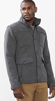 Esprit OUTLET knit jacket with quilted lining