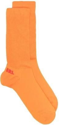 ERL Heel Logo Socks