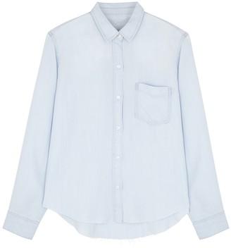 Rails Ingrid Light Blue Lyocell Shirt