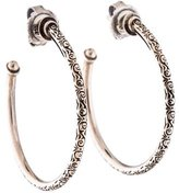 Konstantino Two-Tone Hoop Earrings