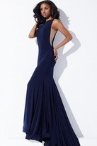 Jovani Long Open Back Formal Dress 37592