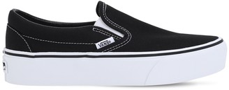Vans Slip-on Suede Platform Sneakers