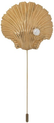 Atu Body Couture Textured Shell Brooch