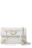 Balenciaga Classic Mini Leather Envelope Crossbody