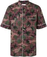 Valentino short sleeve pyjama shirt