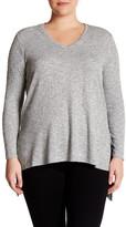 Vince Camuto Hi-Lo Sweater (Plus Size)