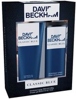 Beckham Classic Blue Toiletry Gift Set